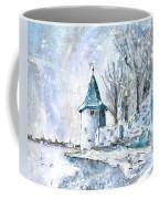 A Seagull In Winter In Lindau Coffee Mug