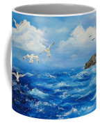 A Seagull's View George's Head Kilkee Co. Clare Coffee Mug