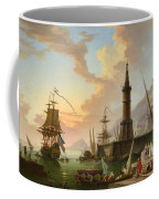 A Seaport Coffee Mug