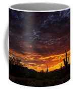 A Sentinel Sunset  Coffee Mug