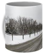 A Sequence Of Trees Coffee Mug