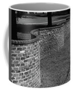 A Serpentine Brick Wall Coffee Mug