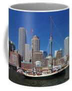 A Ship In Boston Harbor Coffee Mug