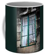 A Ship In The Green Window Coffee Mug