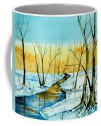 A Sign Of Winter Coffee Mug