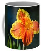 A Single Orange Lily Coffee Mug