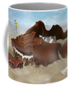 A Slow Death In Piano Valley - Panoramic Coffee Mug