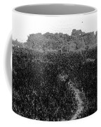 A Small Path Through Very Tall Grass Inside The Okhla Bird Sanctuary Coffee Mug