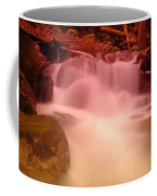 A Small Waterfall Along The Old North Cascade Highway  Coffee Mug
