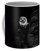 A Smile On The Shoulder - Bw Coffee Mug