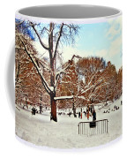 A Snow Day In Central Park Coffee Mug