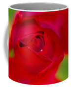 A Soft Wet Rose Coffee Mug