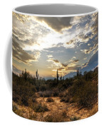 A Sonoran Desert Sunset  Coffee Mug