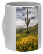 A Southwestern Style Spring Coffee Mug