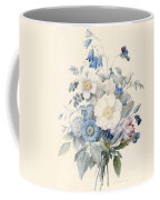 A Spray Of Summer Flowers Coffee Mug