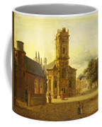 A Square Before A Church Coffee Mug