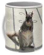 A Squirrel Known As Chippy Coffee Mug