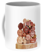 A Stack Of Sausages Coffee Mug