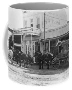 A Stagecoach In Tombstone Coffee Mug