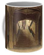 A Staircase, Windsor Castle, From Royal Coffee Mug