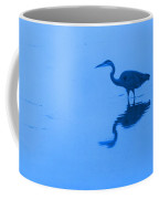 A Stalking Heron Coffee Mug