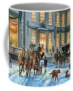 A Stately Christmas Coffee Mug