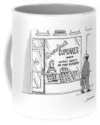 A Storefront Reads: Grandma's Cupcakes Coffee Mug
