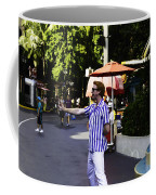 A Street Entertainer In The Hollywood Section Of The Universal Studios Coffee Mug