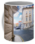 A Street In Prague Coffee Mug