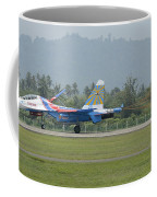 A Sukhoi Su-27 Flanker Of The Russian Coffee Mug