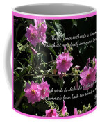 A Summer's Day Pink Romance Coffee Mug