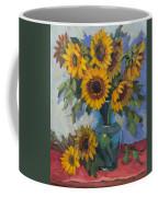 A Sunflower Day Coffee Mug