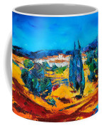 A Sunny Day In Provence Coffee Mug by Elise Palmigiani