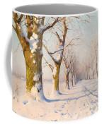 A Sunny Winter's Day Coffee Mug