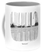 A Supreme Court Judge Gets Coffee Mug