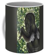 A Suspicious Deinonychus Antirrhopus Coffee Mug