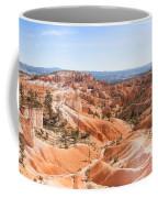 A Sweeping Vista At Bryce Canyon  Coffee Mug
