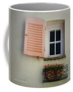 A Sweet Shuttered Window Coffee Mug by Lainie Wrightson