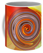 A Swirl Of Colors From The Sun And Earth Coffee Mug