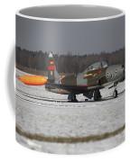 A T-33 Shooting Star Trainer Jet Coffee Mug
