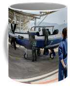 A T-6 Texan Trainer Of The Hellenic Air Coffee Mug