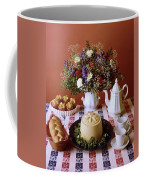 A Table Of Pastries Coffee Mug