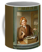A Tax Collector, 1745 Coffee Mug by Tibout Regters