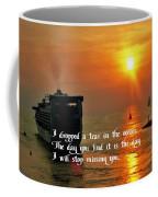 A Tear In The Ocean Coffee Mug