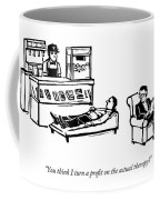 A Therapist's Office With A Concession Stand Coffee Mug