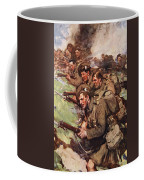 A Thrilling Charge, Illustration Coffee Mug
