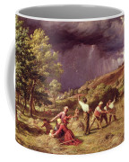 A Thunder Shower, 1859 Coffee Mug