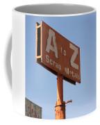 A To Z Coffee Mug