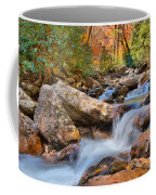 A Touch Of Autumn At Skinny Dip Falls Coffee Mug