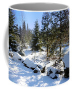 A Touch Of Snow Coffee Mug
